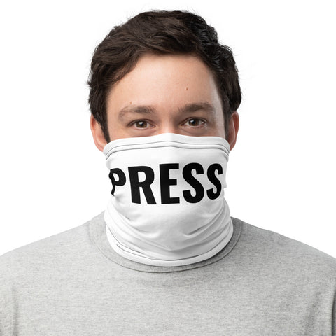 PRESS PASS, Be Essential, Neck Gaiter
