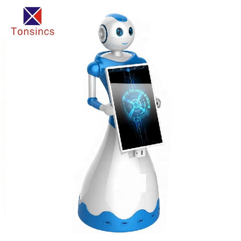TONSINCS new product hard disk 32G Human design Automated smart bank service robot