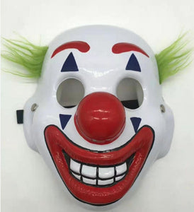 2019 Movie Joker Arthur Fleck Cosplay Mask Clown Masquerade Halloween Scary Masque Masquerade Masks