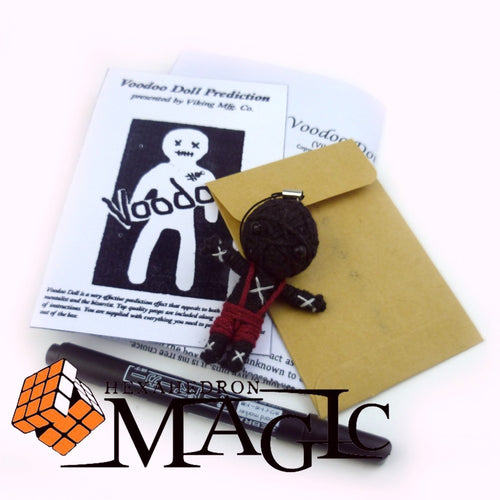 voodoo doll prediction mini size viking magic / close-up stage street floating magic tricks products toys