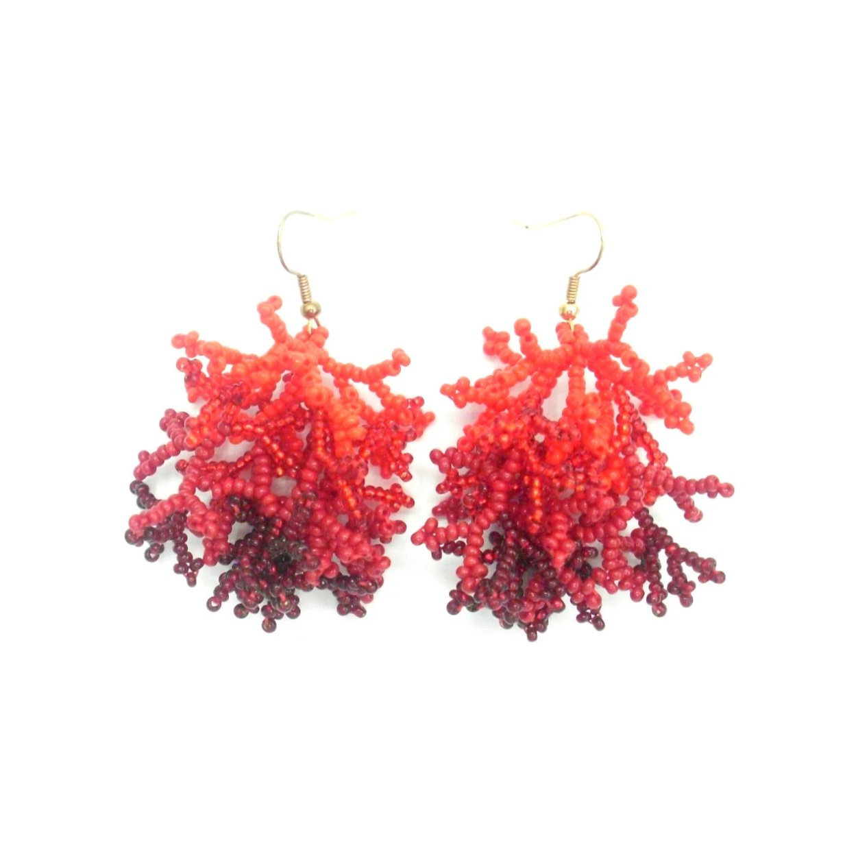 Rosanna: Red Coral Earrings - Putumayo Collection™