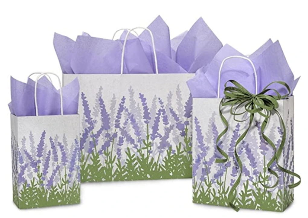 Lavender Fields Gift Wrapping