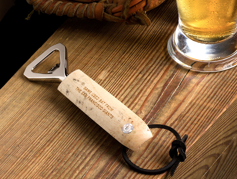 MLB Game Used Bat Bottle Opener