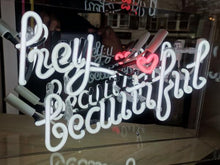 Load image into Gallery viewer, 'Hey Beautiful' Neon Sign
