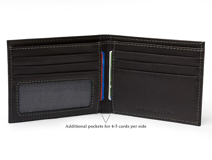 NHL Game Used Uniform Wallet