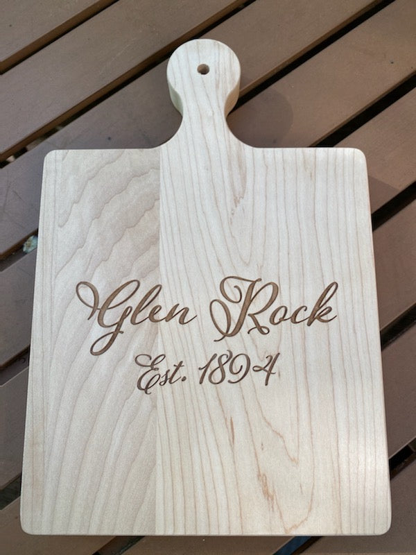 NJ Town Personalized Cutting Board
