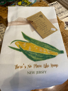 There's No Place Like Home NJ Dish Towel
