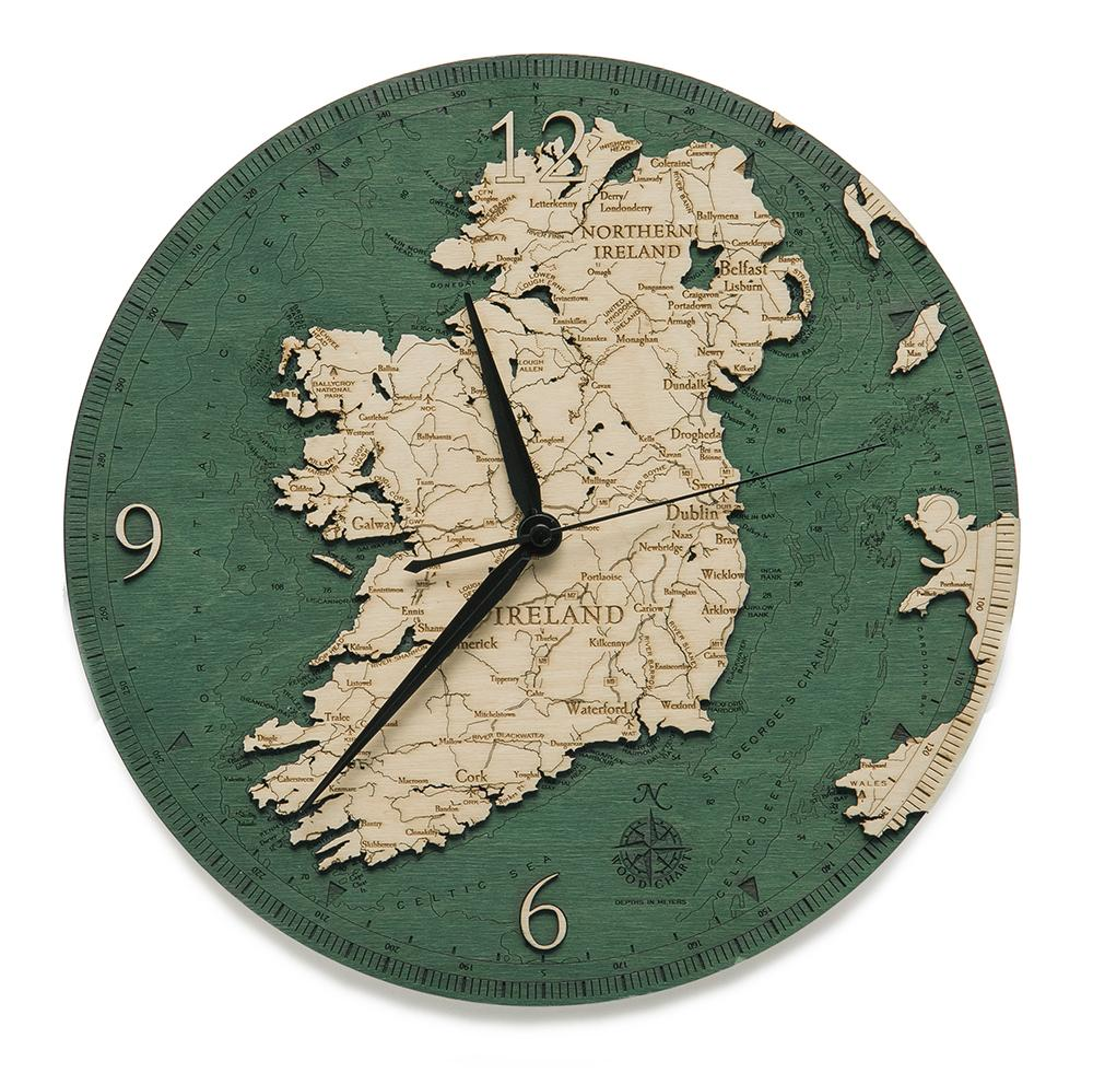 Ireland: Wooden Clock
