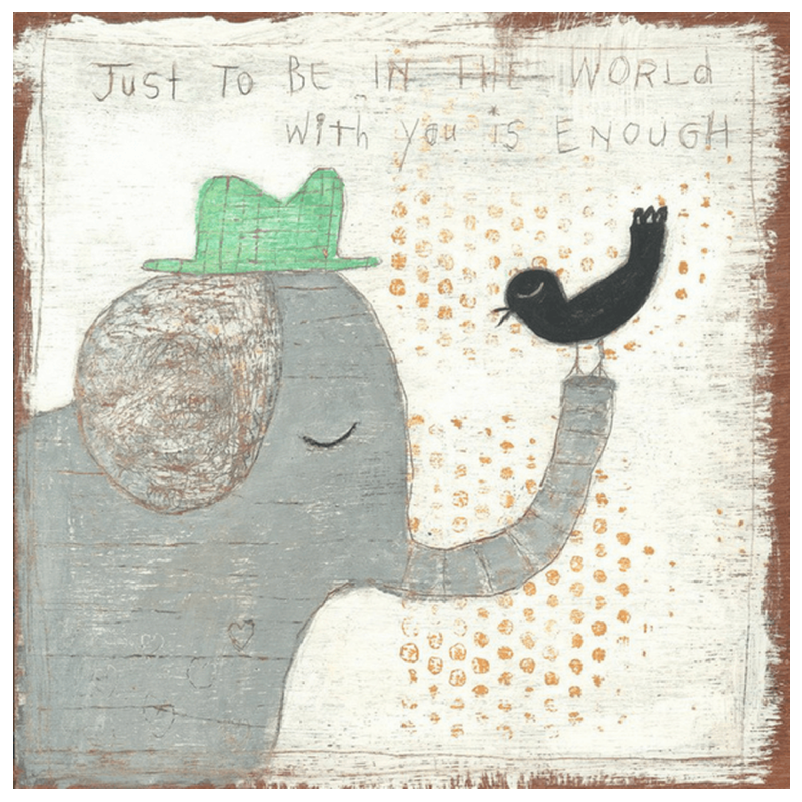 In The World With You Wall Art
