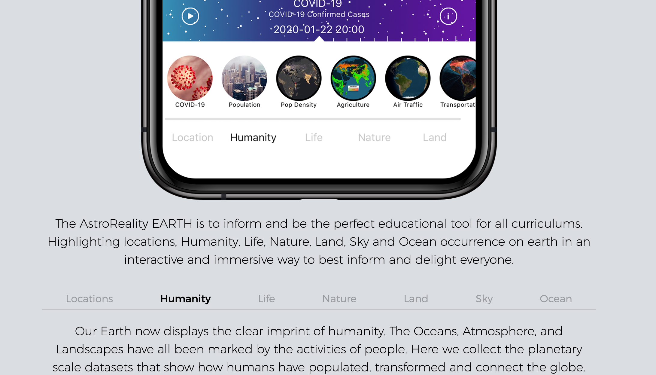 Augmented Reality Planet Earth Model - Pro
