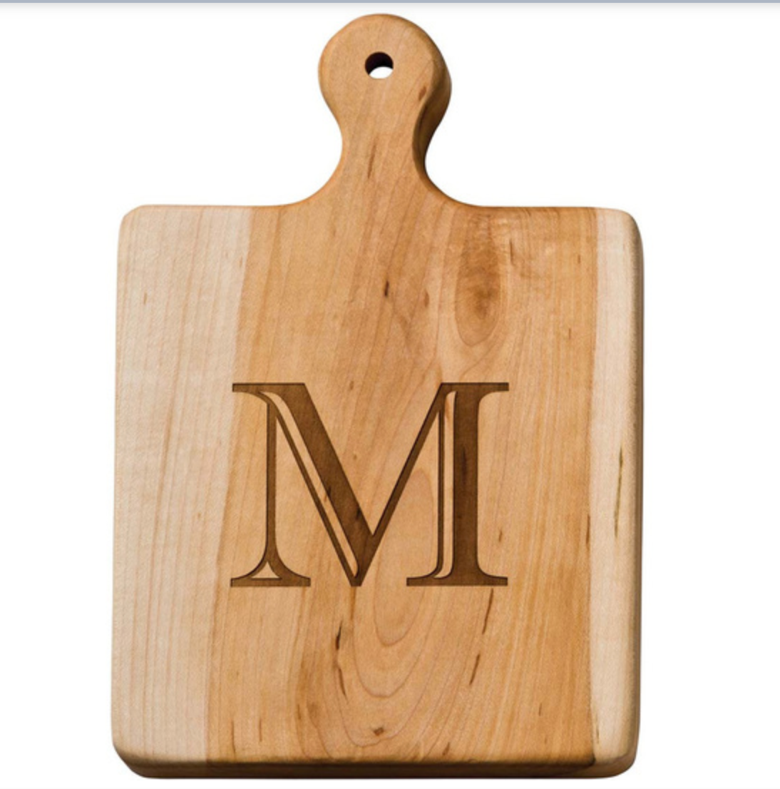 Maple 9-inch Artisan Initial Cutting Board