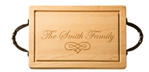 Maple 18 Inch Personalized Rectangle Cutting Board