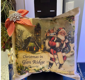 Christmas Hometown Pillows