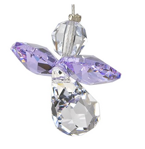 Guardian Angel Crystal Sun Catcher