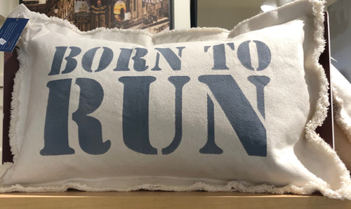 BORN TO RUN Pillow
