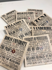 Pennsylvania College Coasters
