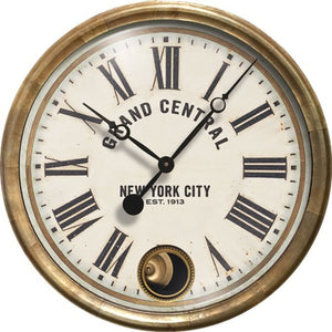 "Grand Central Terminal 16"" Wall Clock"