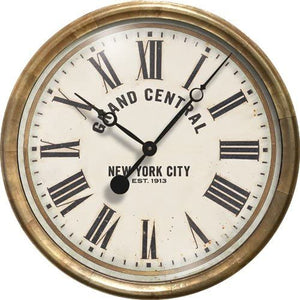 "Grand Central Terminal 23"" Wall Clock"