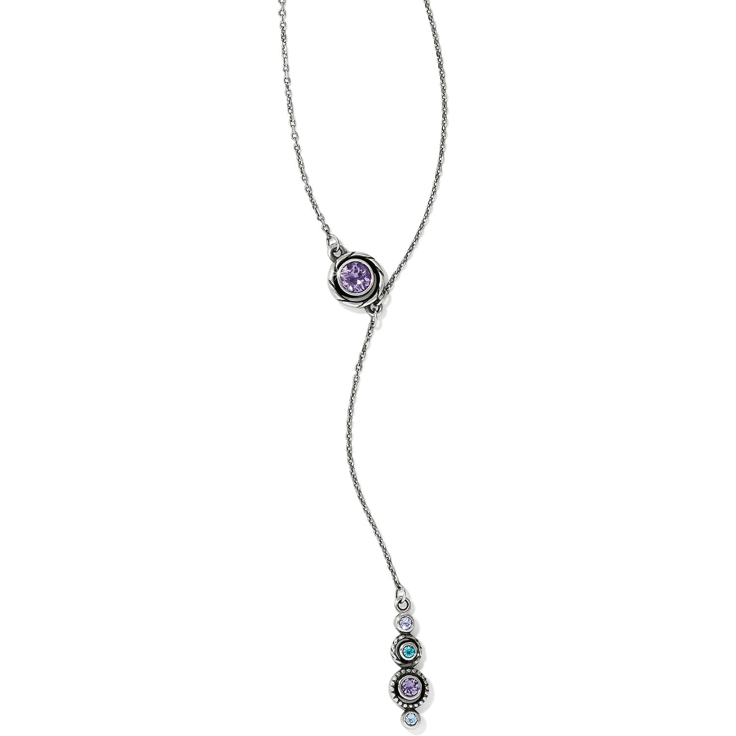 Brighton Halo Y Necklace
