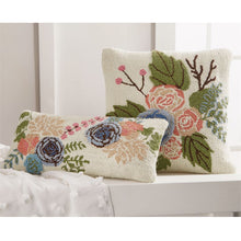 Load image into Gallery viewer, Floral Hooked Pillows