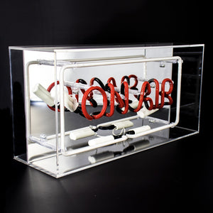'On Air' Acrylic Box Neon Light
