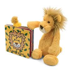 Jellycat If I Were a Lion & Bashful Lion Gift Set
