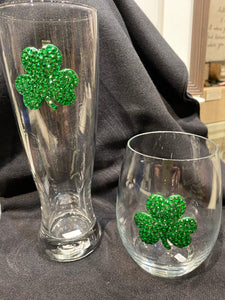 Shamrock Wine Glass/Beer Glass