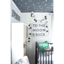 Load image into Gallery viewer, To The Moon and Back Wall Art