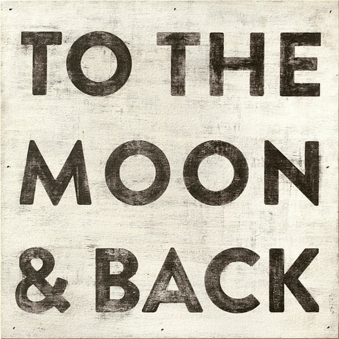To The Moon and Back Wall Art