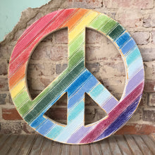 Load image into Gallery viewer, Peace Sign Wall Art