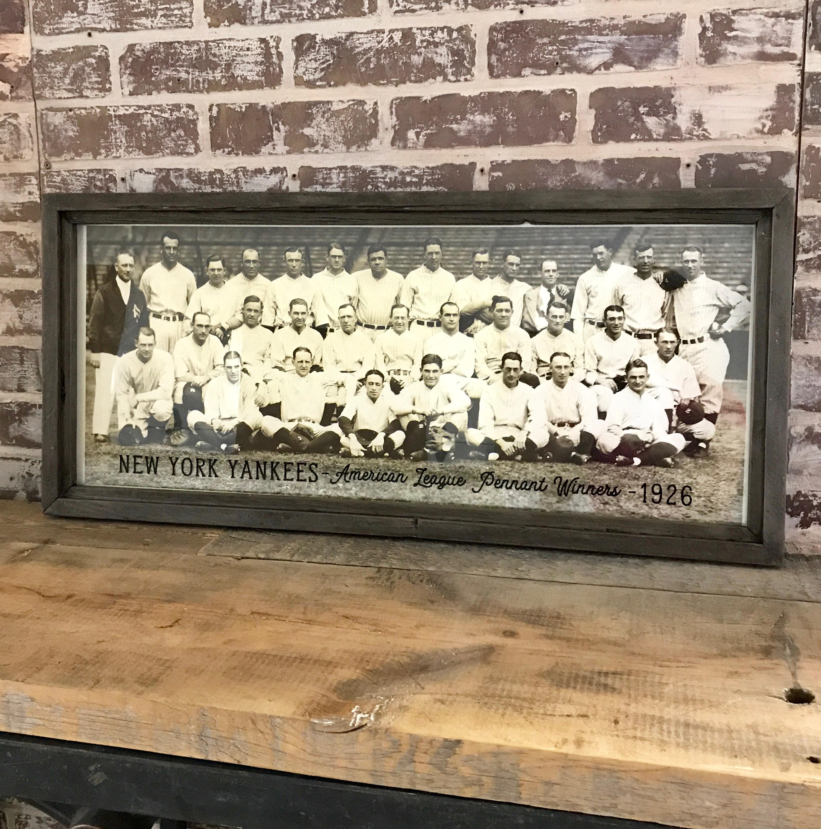 Vintage NY Yankees Photo Circa 1926