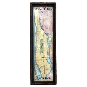 Vintage New York Map