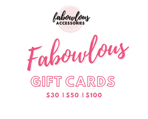 Fabowlous Gift Cards