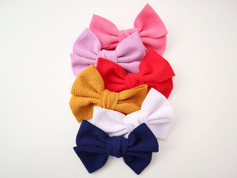Liverpool Bullet Fabric Bow