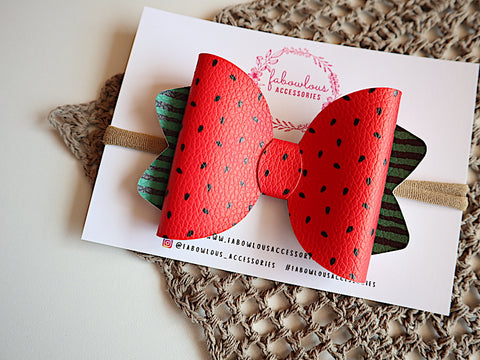Watermelon Bow