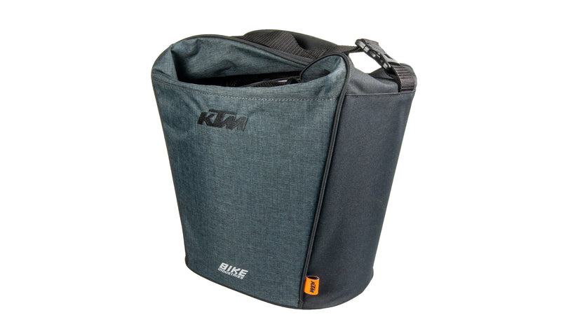 City Handlebar Bag Klick Fix e-bike bracket grey /black