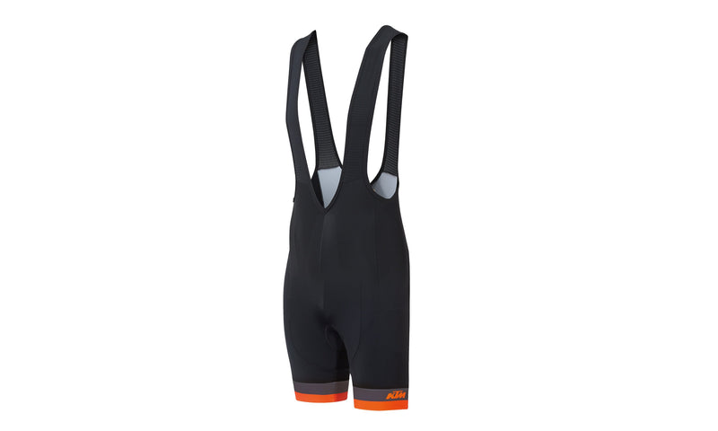 Factory Line  Bib Short Black/Grey/Orange