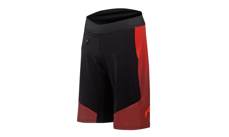 Factory Character  Shorts With Inner Pant Black/Orange/Red