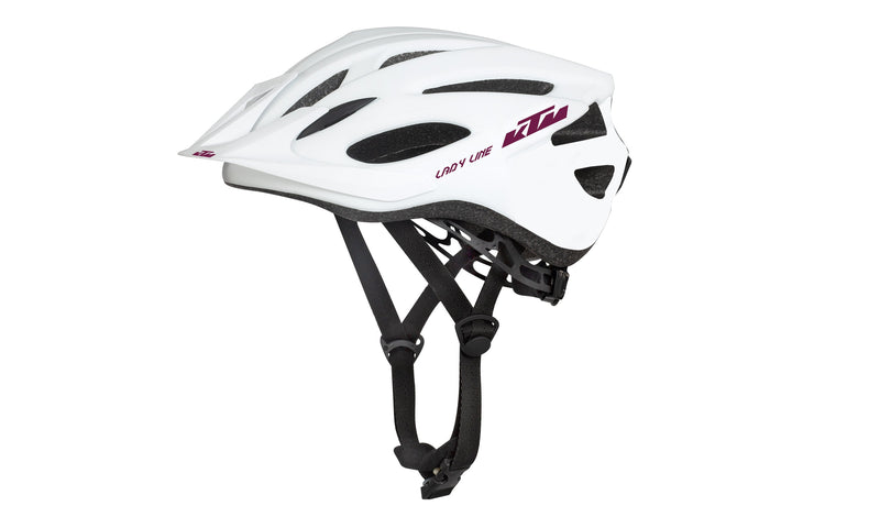 Lady Line Helmet White/Berry