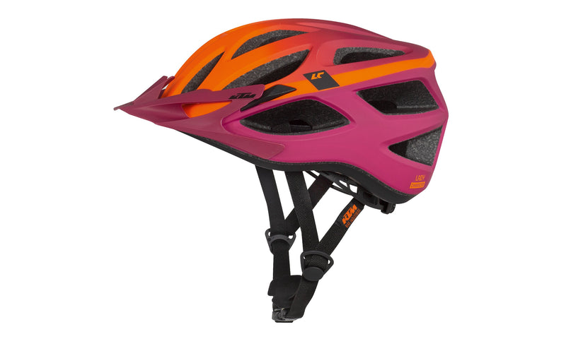 Lady Character Helmet Orange/Berry Matt