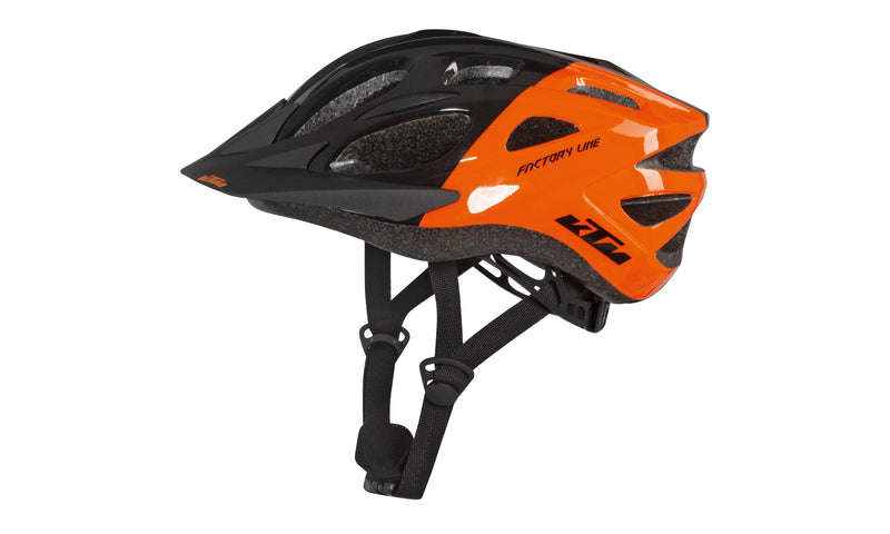 Factory Youth Helmet Black/Orange