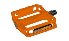 Trail / BMX Pedals Team alloy ball free orange