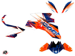 KTM Super Duke 1290 R Eraser Grapjic Kit Blue Orange