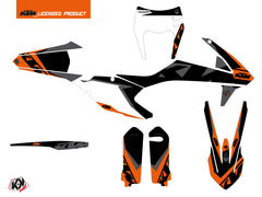 KTM EXC-EXCF Dirt Bike Gravity Graphic Kit Orange