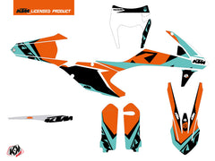 KTM EXC-EXCF Dirt Bike Gravity Graphic Kit Green