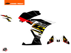 KTM 125 RC Mass Graphic Kit Black Yellow