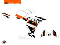 KTM 125 RC Mass Graphic Kit Orange