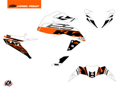 KTM Duke 125 Street Bike Mass Graphic Kit Orange