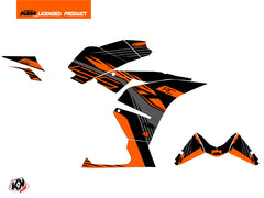 KTM 125 RC Perform Graphic Kit Black Orange