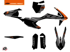 KTM 125 SX Dirt Bike Reflex Graphic Kit Black